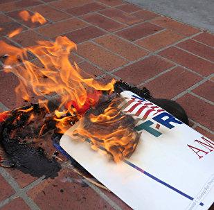 les protestations anti-Trump