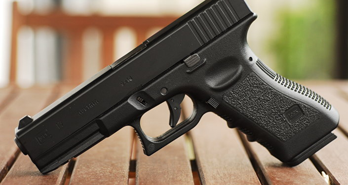 Une arme à feu américaine