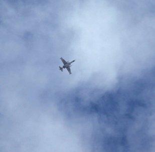 Un avion dans le ciel syrien