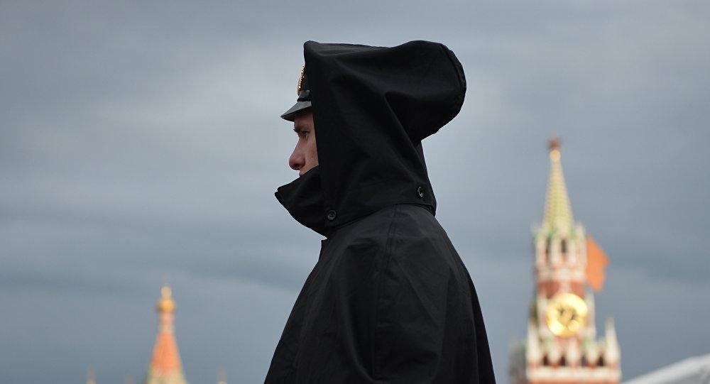 Un policier russe. Image d'illustration