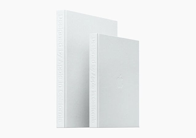 Le livre Designed by Apple in California