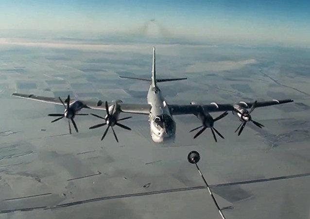 Bombardier stratégique russe Tupolev Tu-95MS