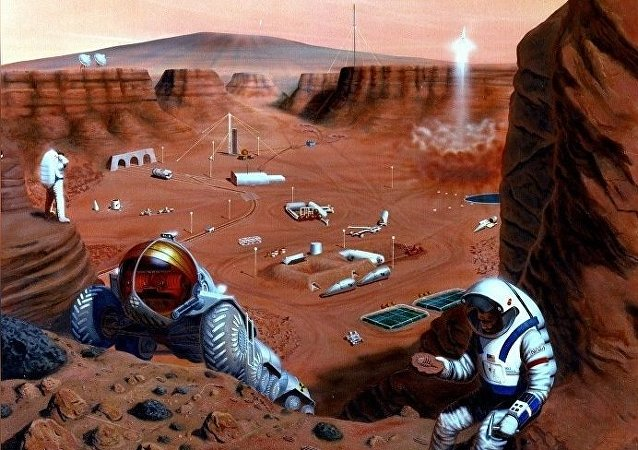 Colonisation de Mars