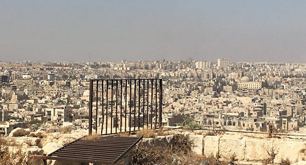 Quartiers est d'Alep