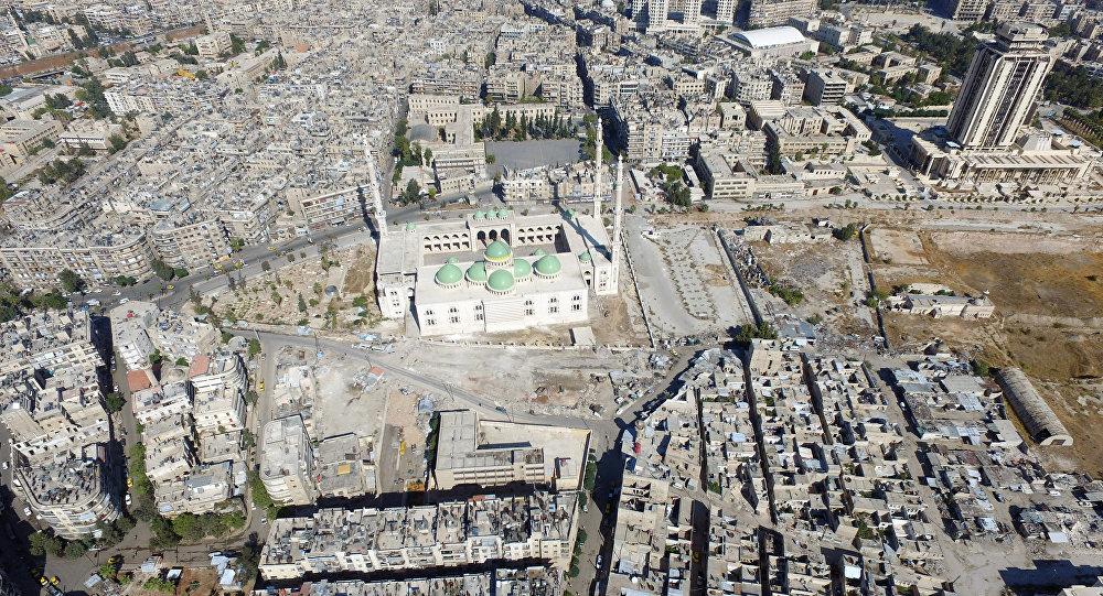 Zerstörte syrische Stadt Aleppo