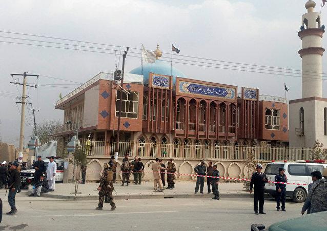 Une mosquée à Kaboul