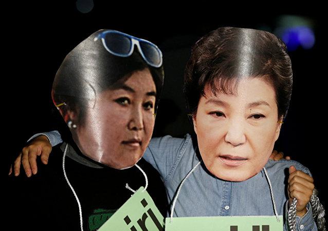 La présidente de la Corée du Sud face va-t-elle être destituée?