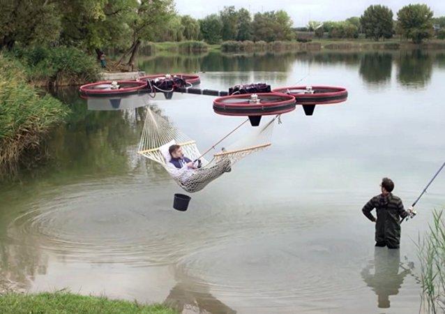 Pourra-t-on un jour voler au bureau à bord d'un hamac?