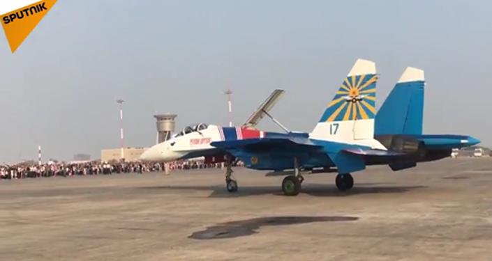 Russkie Vitiazi au Salon Iran Air Show 2016