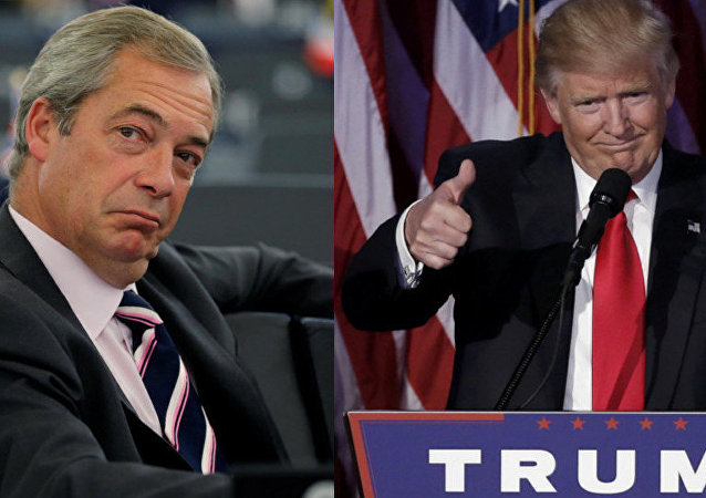 Nigel Farage et Donald Trump