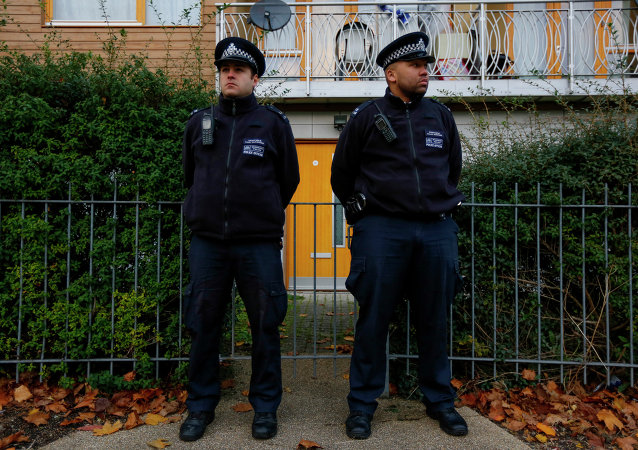 Des policiers britanniques