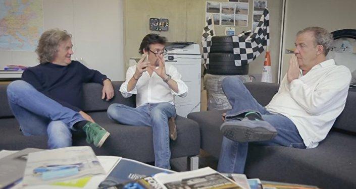 Jeremy Clarkson, Richard Hammond et James May