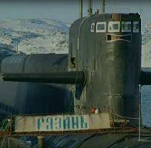 Sous-marin nucléaire Riazan