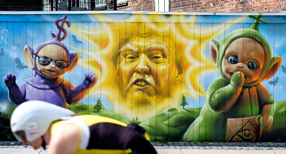 graffiti Trump