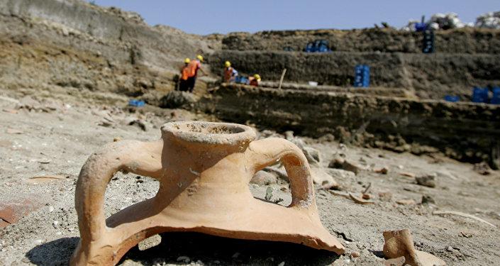 Le site archéologique en Turquie