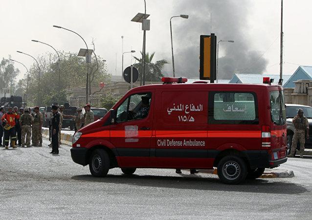 Une ambulance à Bagdad