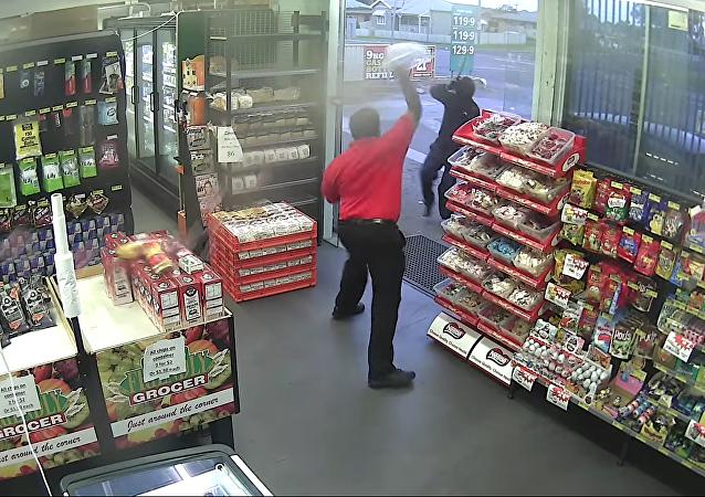 Le bonbon, une arme redoutable contre les voleurs!