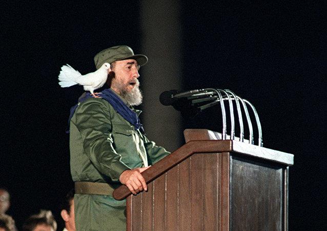 Fidel Castro en 1989