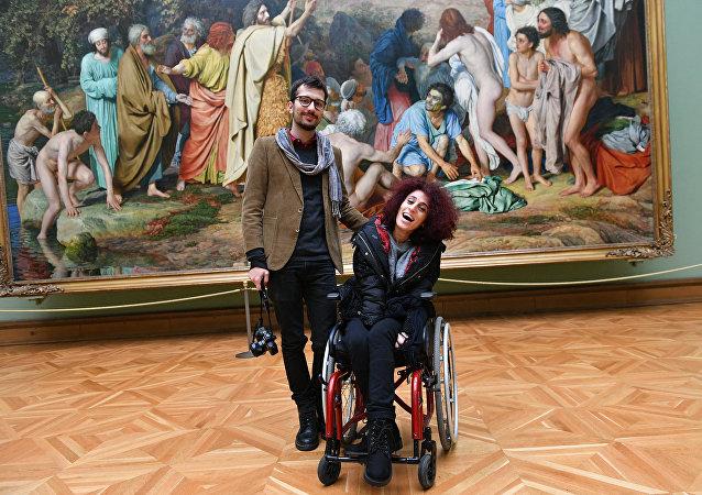 Concours Andreï Sténine: l'héroïne paralysée de la photo gagnante vient à Moscou