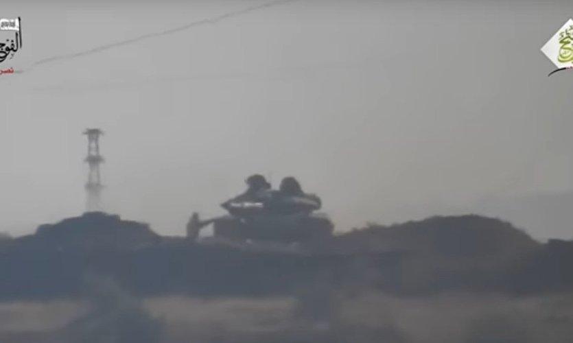 Le T-72 en Syrie