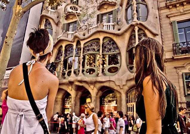 touristes, Barcelona
