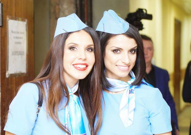 Les hôtesses de l'air les plus belles de Russie