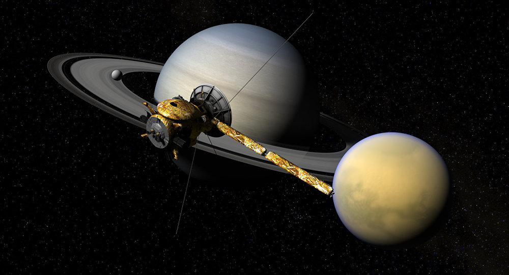 Cassini, Titan, & Saturn