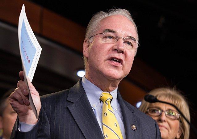 Le secrétaire US à la Santé Tom Price démissionne