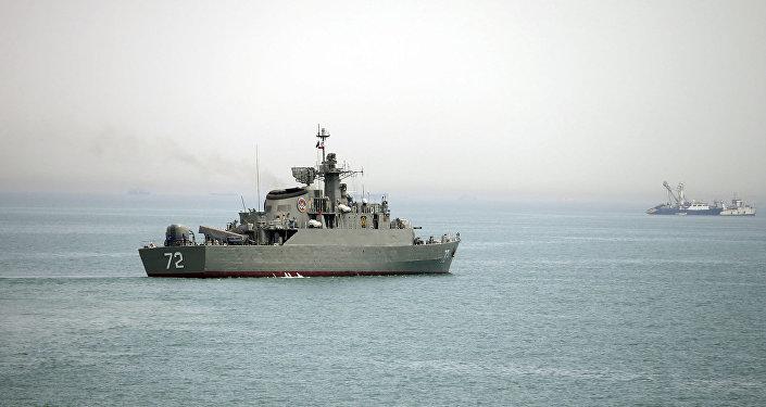 Navire iranien, image d'illustration