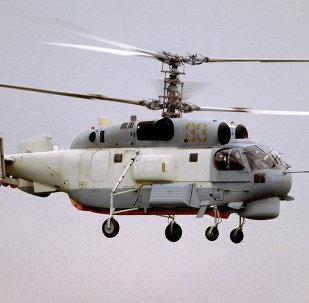 L'hélicoptère Ka-27
