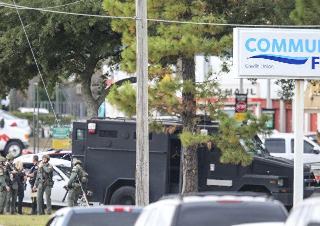 Cambriolage avec prise d'otages dans une banque en Floride