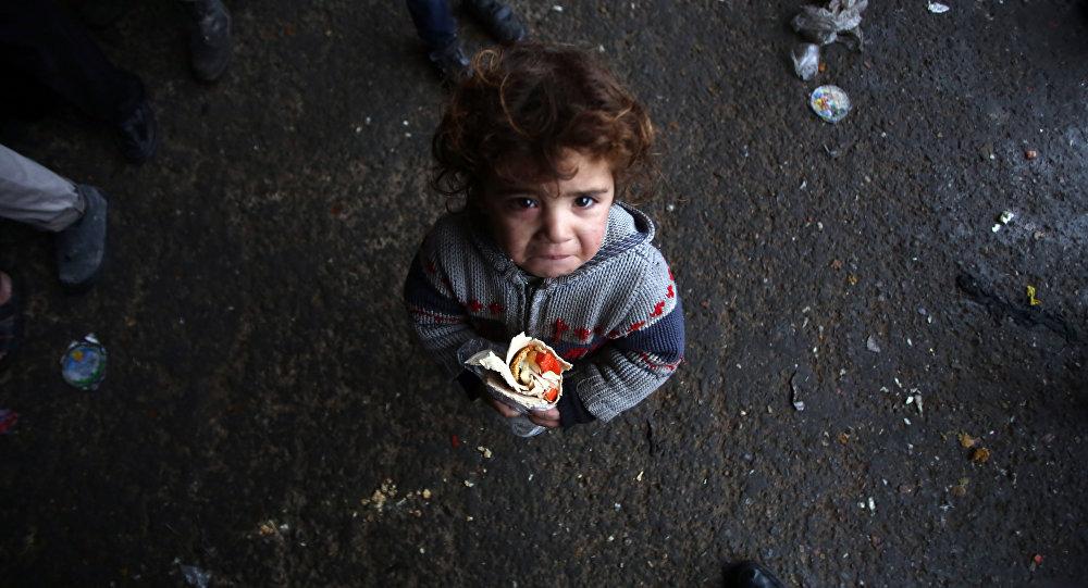enfant d`Alep