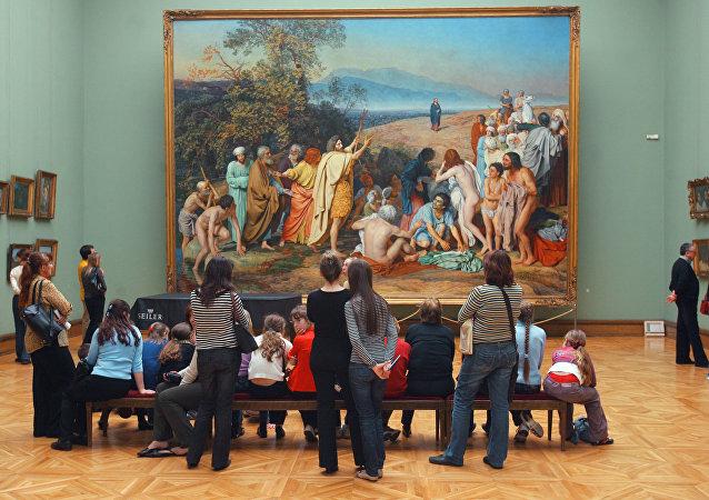 Toutes les œuvres de la galerie Tretiakov désormais disponibles sur la Toile!