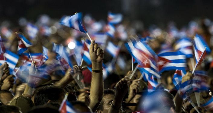 Drapeaux cubains