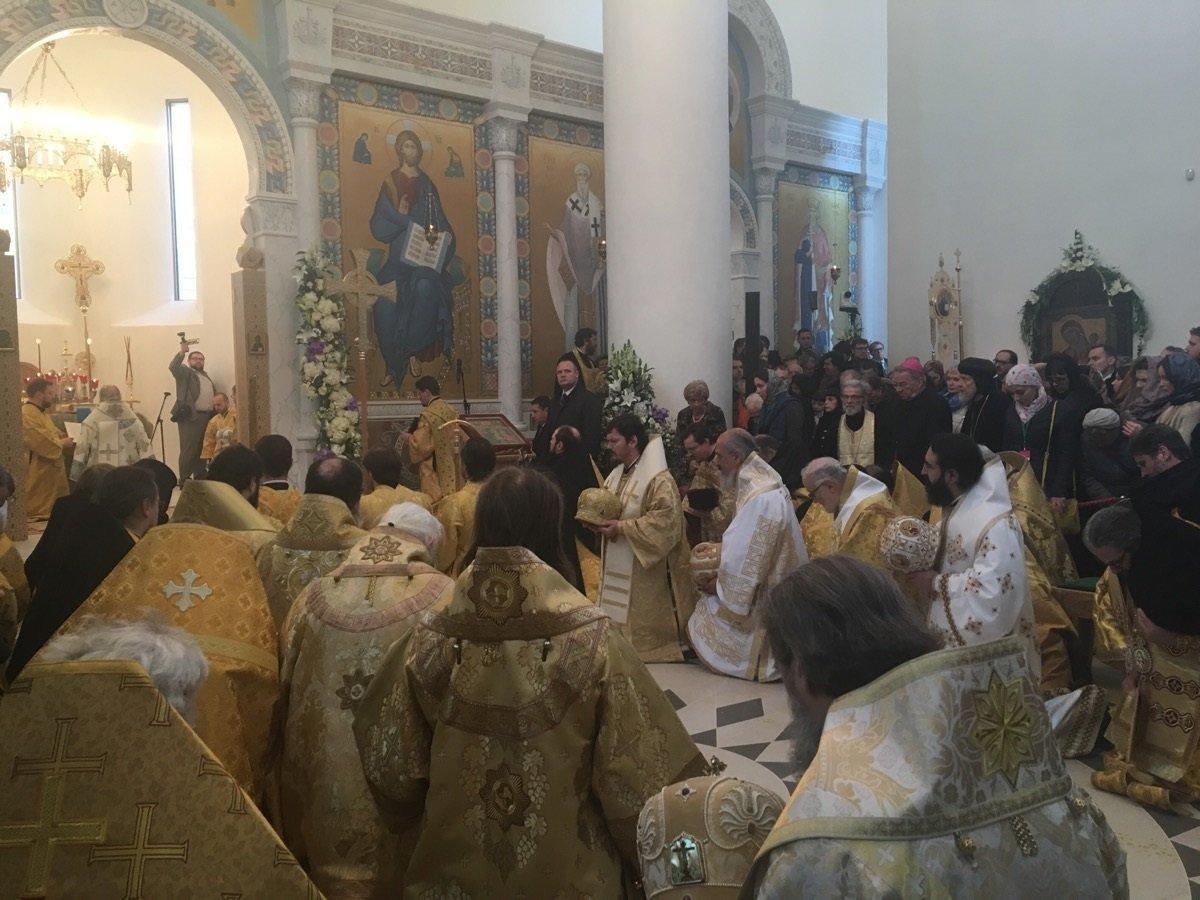 Le patriarche de Moscou Kirill consacre la nouvelle cathédrale russe à Paris