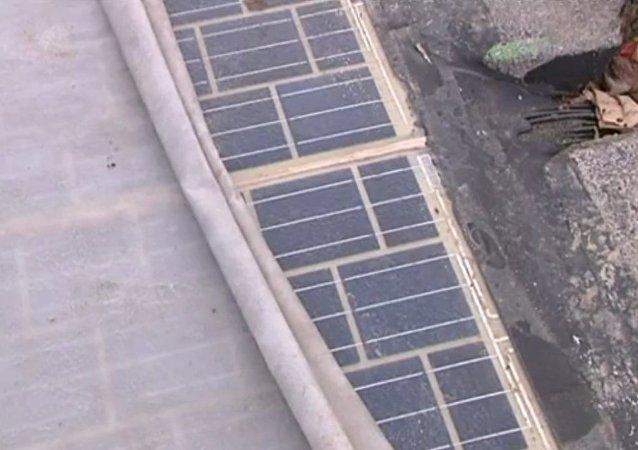 La route solaire en Normandie, une première mondiale
