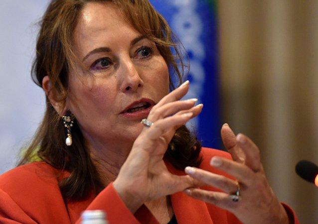 La ministre française de l'Environnement Ségolène Royal