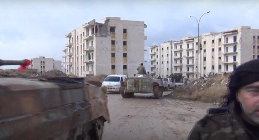 Damas libère encore un bastion des terroristes à Alep-Est