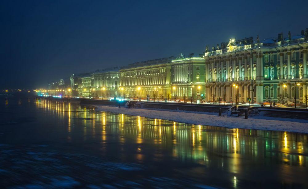 Palais d'Hiver à Saint-Pétersbourg