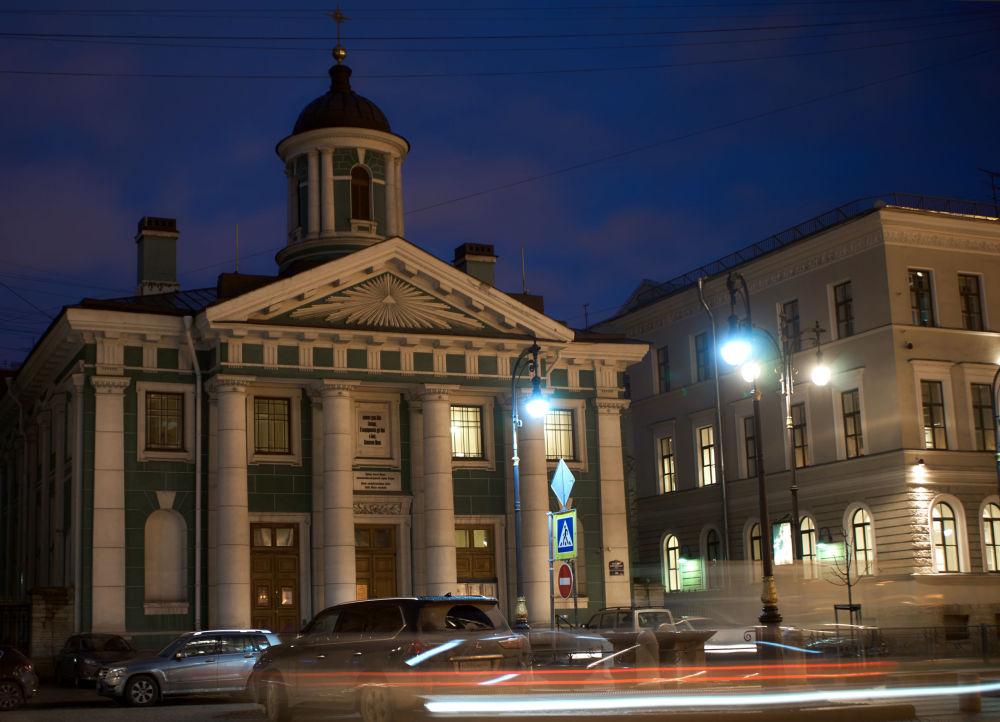 L'église Sainte-Marie à Saint-Pétersbourg