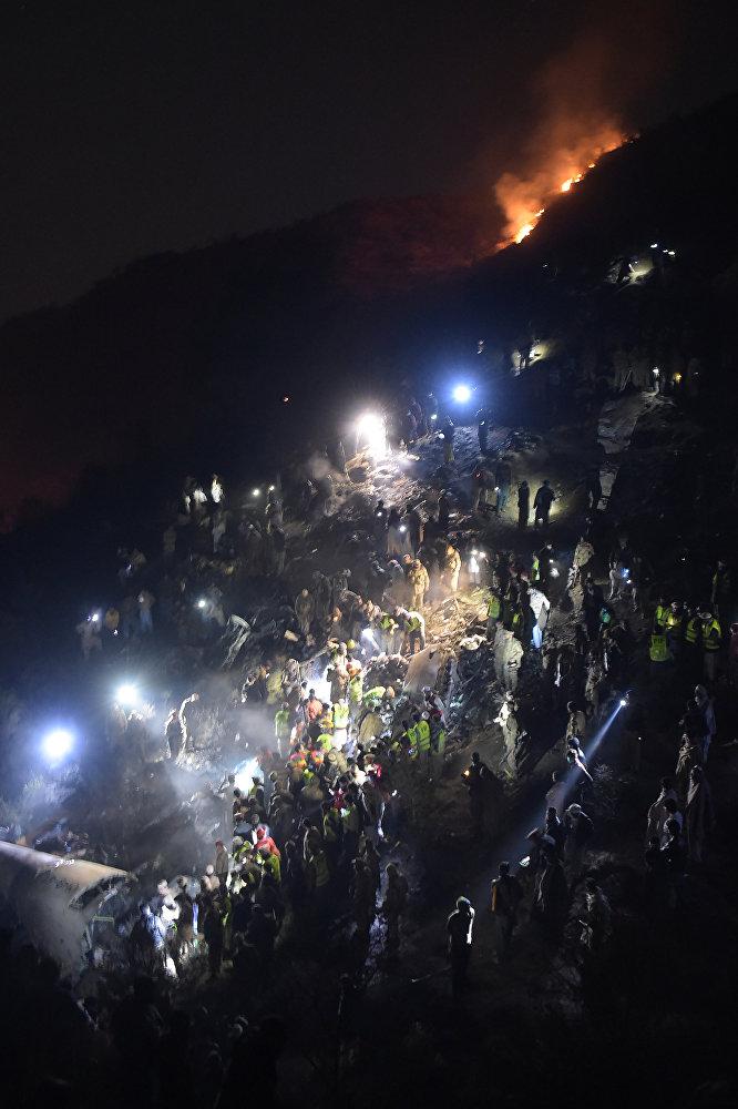 Crash d'un avion au Pakistan