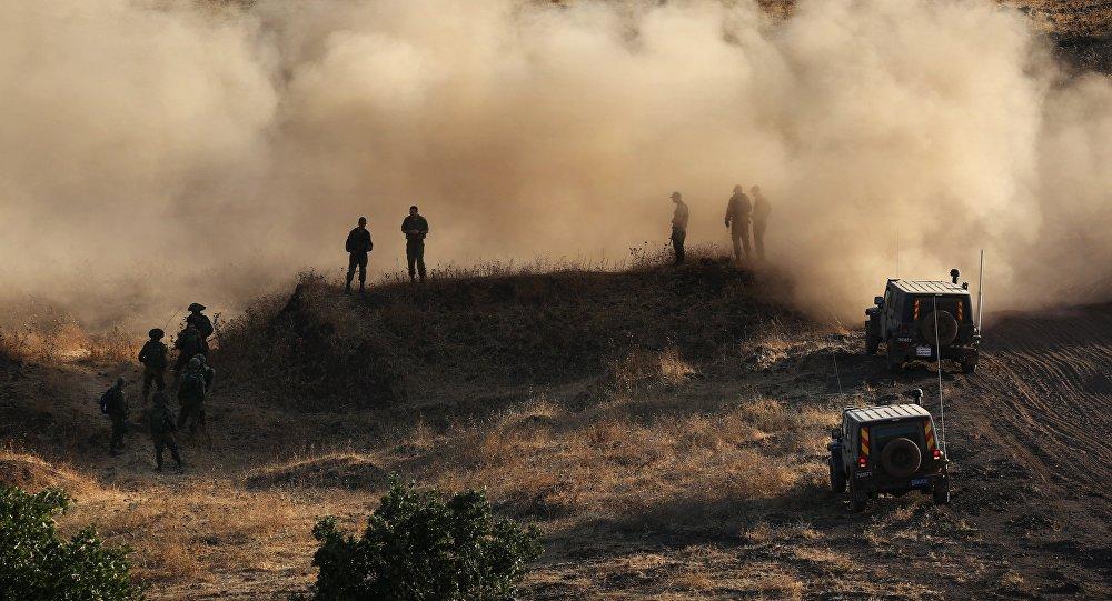 Soldats israéliens sur le plateau du Golan. Archive photo