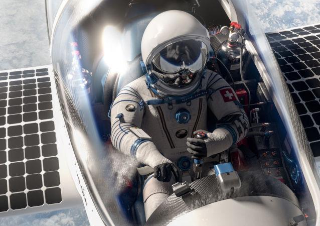 Atteindre la stratosphère à bord d'un avion solaire