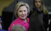 L'ex-candidate à la présidentielle américaine Hillary Clinton