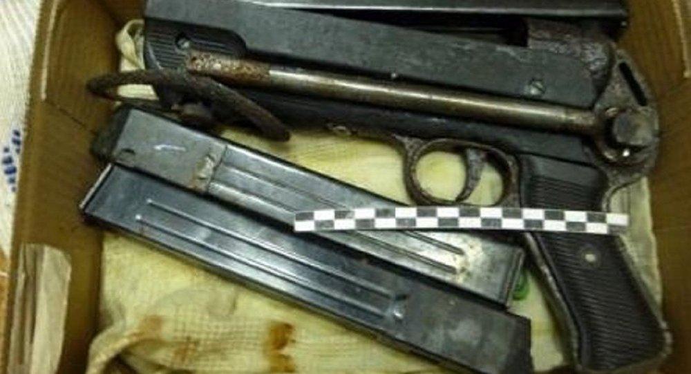 Le pistolet de la Sconde Guerre mondiale