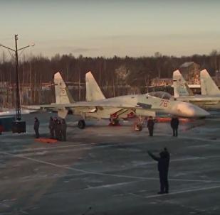 Les nouveaux Su-35 arrivent en Carélie
