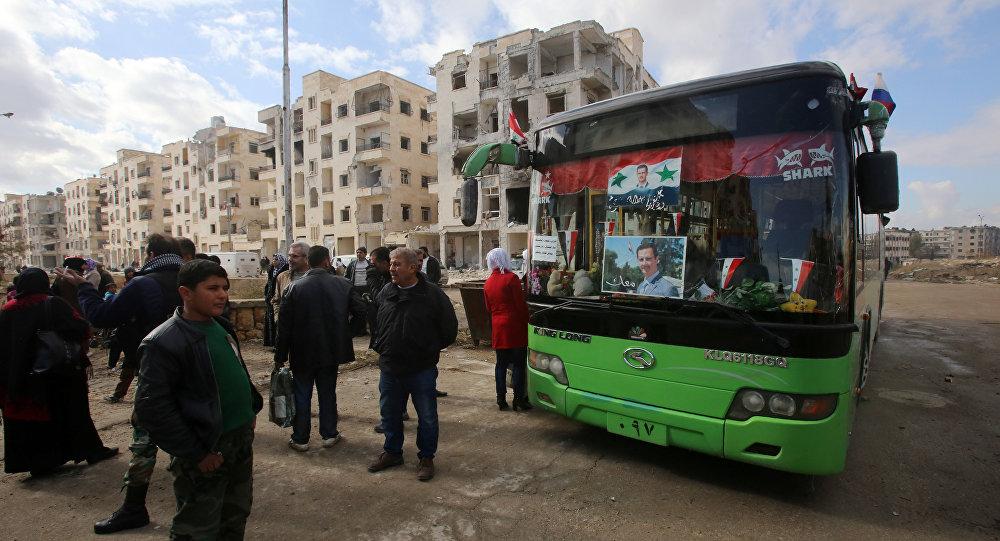 L'évacuation des Syriens