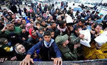 l'évacuation des habitants dAlep