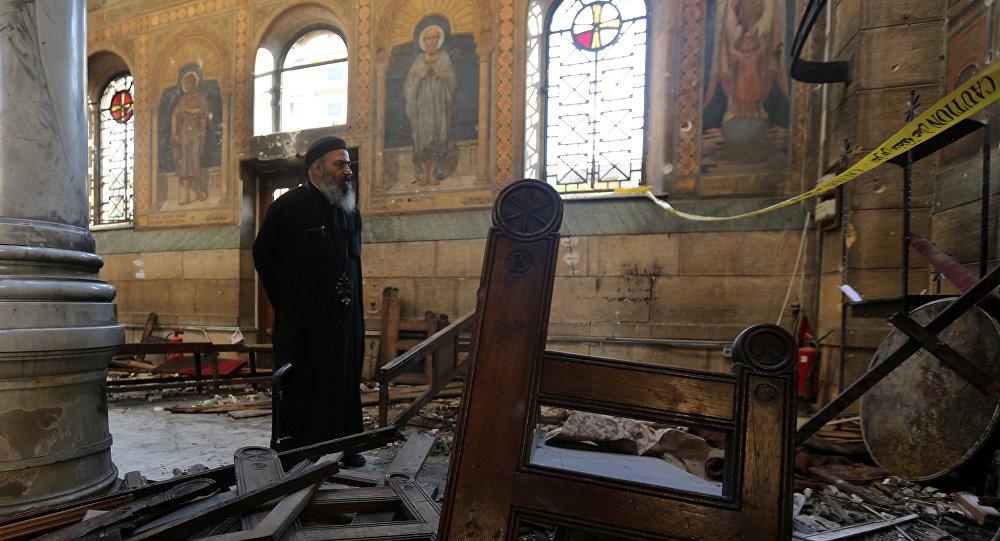 Attentat du Caire: les cendres de Boutros-Ghali dans l'église attaquée