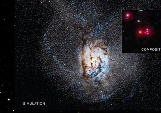 La galaxie SPT0346-52